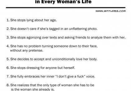 8-defining-moments-in-every-womans-life-list