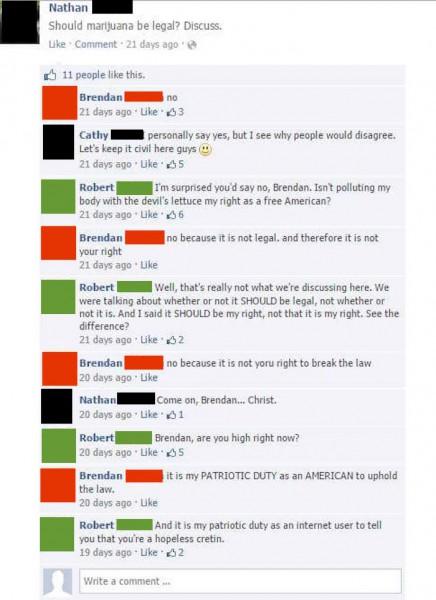 brendan-robert-facebook-troll-marijuana-legal-comments