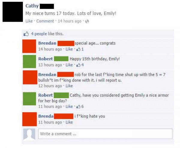 brendan-robert-facebook-troll-niece-17-comments