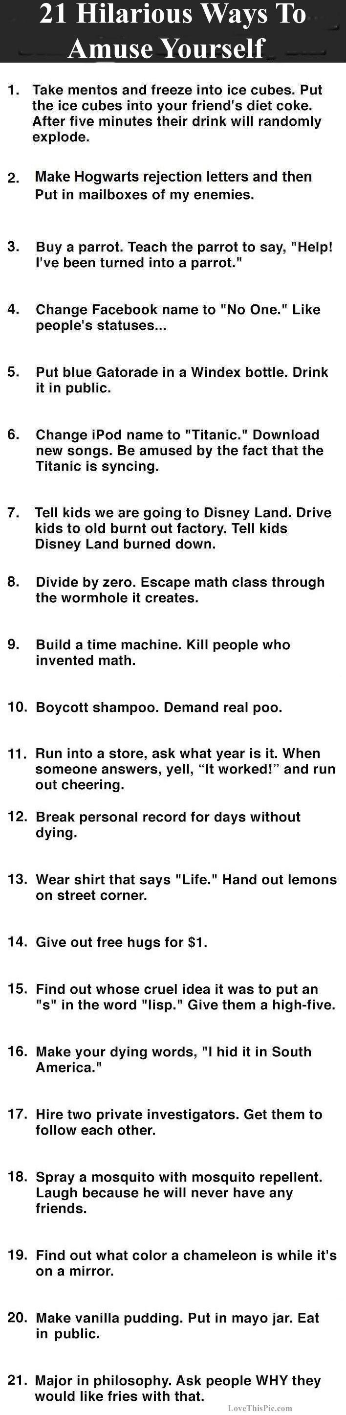 Hilariouswaysamuseyourselflistfunny Wititudes - 21 hilarious reasons break someone