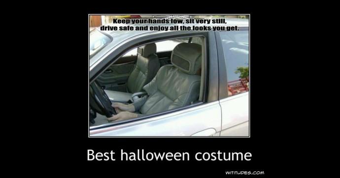Best Halloween Costume - Car Seat - Wiudes