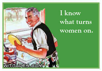 I know what turns women on ecard