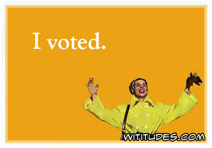 I voted ecard