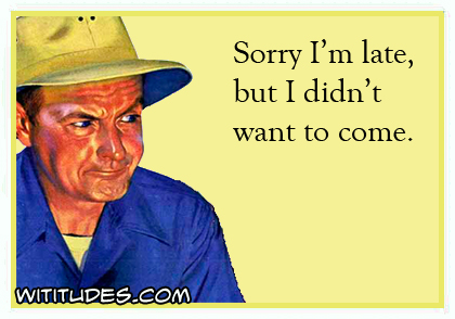 Sorry I'm late, but I didn't want to come ecard
