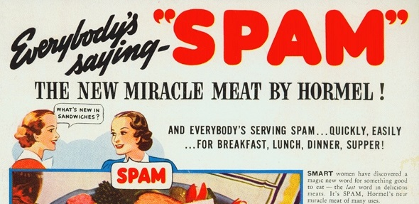 12 Vintage Spam Ads Over The Years