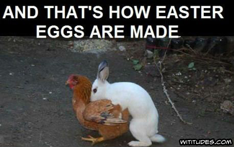 And That's How Easter Eggs Are Made