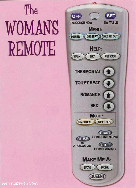The Woman's Remote